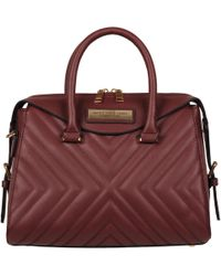 Wilsons Leather - Marc New York Barrel Satchel W/ Dual Handle - Lyst