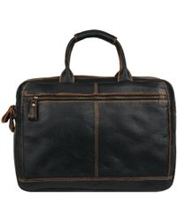 Wilsons Leather - Landon Travel Leather Brief - Lyst