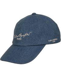 Wilsons Leather - Designer Brand Cotton Baseball Hat - Lyst