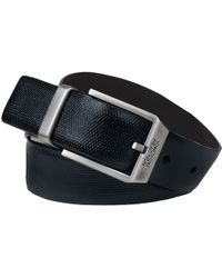 Wilsons Leather - Kenneth Cole Textured Reversible Belt - Lyst
