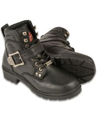 Wilsons Leather - Milwaukee Leather Side Buckle Plain Toe Boot - Lyst