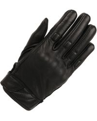 Wilsons Leather | Solid Molded Knuckle Motorcycle Glove W/ Adjustable Wrist | Lyst