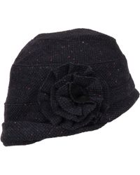 Wilsons Leather - Speckled Bucket Hat W/ Flower - Lyst