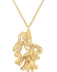 Loveness Lee - Chinese Zodiac Monkey Horoscope Gold Pendant Necklace - Lyst