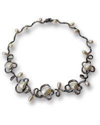 Bellus Domina - Festino Pearl Necklace - Lyst