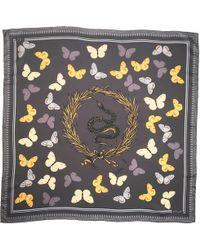 Merritt & Rich - Serpent And Butterflies Wedgewood Grey - Lyst
