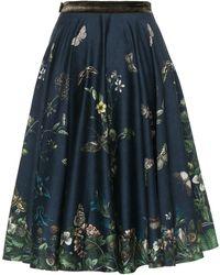 Lena Hoschek - Garden Society Skirt Dawn - Lyst