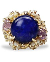 Bellus Domina - Amare Lapis Ring - Lyst