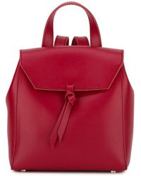 Alexandra De Curtis - Hepburn Mini Backpack Red - Lyst
