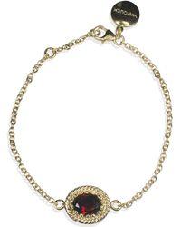 Vintouch Italy - Luccichio Garnet Bracelet - Lyst