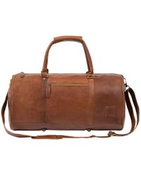 MAHI - Overnight/gym Bag In Vintage Brown - Lyst