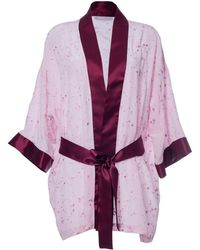 Roses Are Red - Sonata For The Dawn Kimono Pink - Lyst