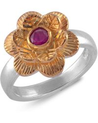 Emma Chapman Jewels - Gypsy Rose Ruby Ring - Lyst