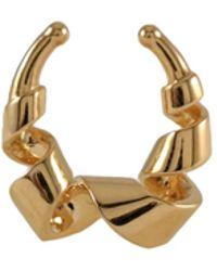 MARIE JUNE Jewelry - Loopty Loop Gold Septum Ring - Lyst