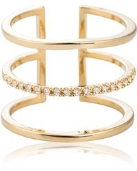 Astrid & Miyu - Triple Bewitched Ring - Lyst