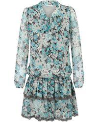 Ju Lovi - Miami Silk Dress Blue - Lyst