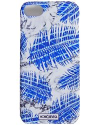 Monique Vega Design House - Palmanova Blue Phone Case - Lyst