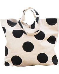 Soi 55 Lifestyle - Kapahulu Beach Bag Classic Black Dotty - Lyst