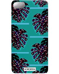 Monique Vega Design House - Palmera Mint Phone Case - Lyst