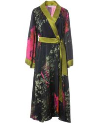 Roses Are Red | Sienna Silk Kimono | Lyst