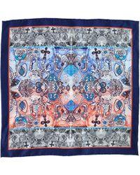 Medley Creations - London Calling Silk Neckerchief - Lyst