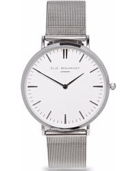 Elie Beaumont - Oxford Small Silver Mesh - Lyst