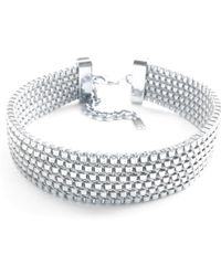 Clare Hynes Jewellery - Charlie Choker Silver - Lyst