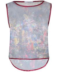 Funlayo Deri - Sheer Phantom Floral Print Top - Lyst