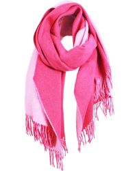 UnPaired - The Cozylab Oversized Cashmere Blended Scarf In Pink Glo - Lyst