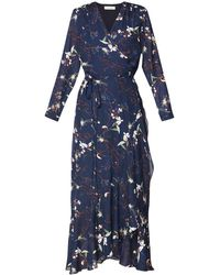 7cfaab1dca Tory Burch Annalise Lace-trimmed Embroidered Cotton-voile Midi Dress ...