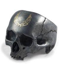 Frederick Grove - Laurel Skull Ring - Lyst