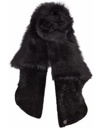 Gushlow and Cole - Black Gilet Scarf - Lyst