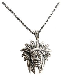 Serge Denimes - Silver Chieftain Necklace - Lyst