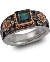 Emma Chapman Jewels - Tourmaline And Diamond Treasure Ring - Lyst