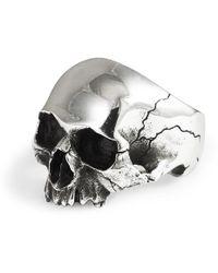 Frederick Grove - Silver Skull Ring - Lyst