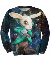 Aloha From Deer - Wonderland Sweatshirt - Lyst