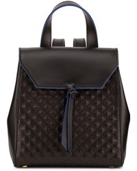 Alexandra De Curtis - Hepburn Mini Backpack Black Scudo - Lyst