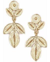 Kitik Jewelry - Nitti Gold Earring - Lyst