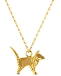 Origami Jewellery | Mini Cat Gold | Lyst