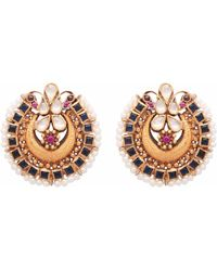 Carousel Jewels - Crystal & Pearl Intricate Statement Earrings - Lyst