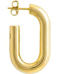 Glenda López - The Xl Golden Link Earring - Lyst