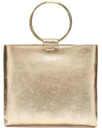 Thacker NYC - Le Pouch In Vintage Gold - Lyst