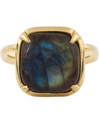 Natasha Sherling - Labradorite Ring Gold - Lyst