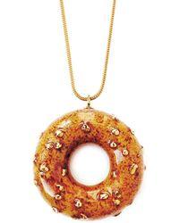 Tadam! Design - Caramelised Doughnut With Cinnamon & Gold Sprinkles - Lyst