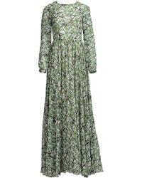 MATSOUR'I - Michelle Silk Dress - Lyst