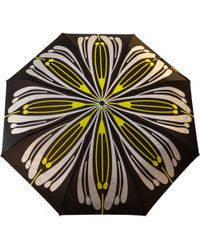 Raindance Umbrellas - Flores Yellow & Silver - Lyst