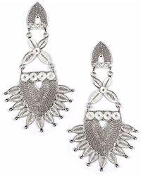 Kitik Jewelry - Sinchi Silver Earrings - Lyst