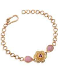Emma Chapman Jewels - Gypsy Rose Ruby & Pink Tourmaline Bracelet - Lyst