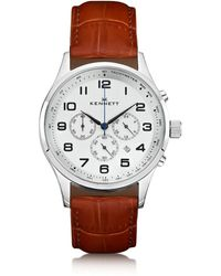 Kennett Watches | Savro Silver Light Brown Modern | Lyst