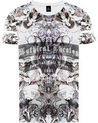 Raddar7 - Mythical Eagle All Over Print T-shirt - Lyst